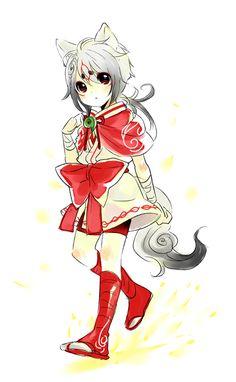 Okami Amaterasu Human Form Male Gender: male | isa ...