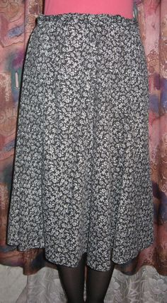 Винтажная женская юбка клеш. от VIRTTARHAR на Etsy
