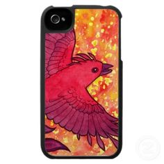 Firebird iPhone 4 Speck Case - $47.95 at Zazzle.com #firebird #phoenix #iphone #case #fantasy #cute