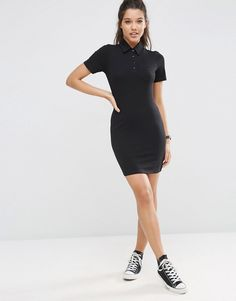 Image 4 of ASOS Polo Shirt Dress