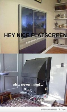 redneck tv installation lol Dankest Memes, Jokes, Funny Memes, Playbuzz, Funny Things, Stupid Things, Comedy Zone, Flatscreen, Fails