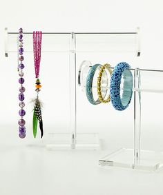 Jewelry organization tips from The Container Store! Some very good ideas!