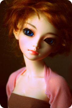 pretty faced doll