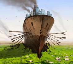 Dystopian Worlds by Alex Andreev