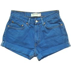 MINI-SHORTS LEVI'S ❤ liked on Polyvore featuring shorts, hot pants, hot short shorts, micro shorts, levi shorts and hot shorts