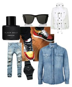 """""""spring time is emerging"""" by outerego on Polyvore featuring Brunello Cucinelli, Polo Ralph Lauren, Yves Saint Laurent, Movado, Kenneth Cole, men's fashion and menswear"""