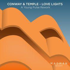 Artwork pour le rework de Young Pulse - Conway & Temple - Love Lights