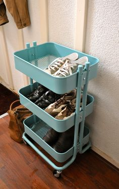 TOP 10: Multifunctionele turquoise trolley past in iedere ruimte | STIJLIDEE Interieuradvies en Styling via www.stijlidee.nl