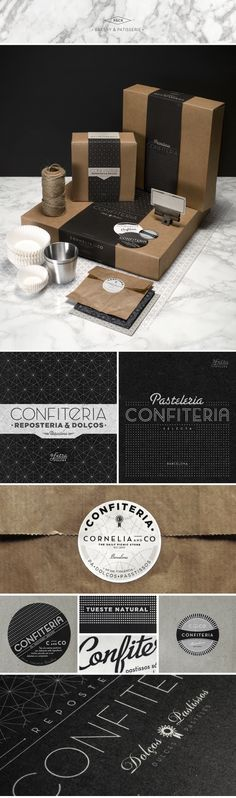 CORNELIA and CO [ Brand identity & Packaging ] by Oriol Gil, via Behance | #stationary #corporate #design #corporatedesign #identity #branding #marketing < repinned by www.BlickeDeeler.de | Take a look at www.LogoGestaltung-Hamburg.de