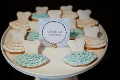 Cute Ballerina Dress Cookies!  Lily Chic Events Tomkat