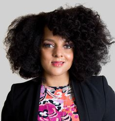 The soulful songtress Marsha Ambrosius rocks her natural strands in an edgy afro!