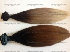 "18"" Clip-In Hair Extensions * 8 pcs Extensions * Human Hair Blend * 200 grams"