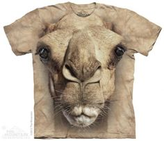 Big Face Camel T-Shirt at theBIGzoo.com, a toy store with over 12,000 products.