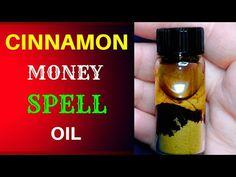 💸 CINNAMON MONEY SPELL OIL - YouTube Powerful Money Spells, Money Spells That Work, Hoodoo Spells, Magick Spells, Luck Spells, Money Oil Recipe, Prosperity Spell, Beauty Spells, Money Magic