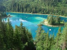 Caumasee, Switzerland