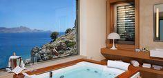 Accommodation in Rhodes (Rhodos), Lindos Blu hotel
