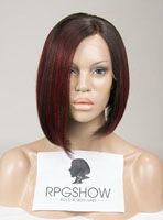 Full Lace Wigs|Lace Front Wigs|Lace Wigs @ RPGSHOW Stock Highlight BOB Full Lace Wig - XB001-s [XB001] - Real product photo info: hair color: #2/Red hair length: 10