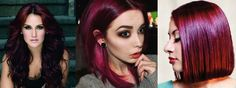 Plum Browns - with violet and red undertones for brunettes who are looking for an edgy, yet professional look. Winter 2013 Hair Trends