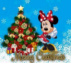 Minnie christmas