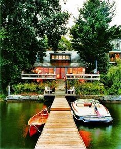 Lake House - traditional - exterior - new york - Thom Filicia Inc.