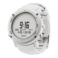 Suunto Core Alu Pure White The outdoor watch with altimeter, barometer & compass in a range of stylish design options Sport Watches, Cool Watches, Watches For Men, Modern Watches, Women's Watches, Wrist Watches, Monitor, Top Computer, Walmart