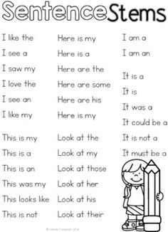 Sentence Building - Sentence Unjumbles and Fluency Activity