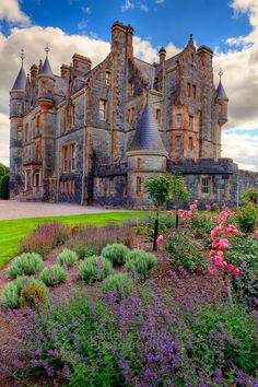 Blarney House - nearby Blarney Castle ruins, Ireland