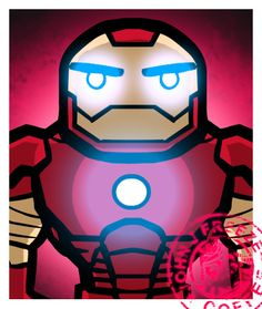 Iron Man - A solo shot from that Avengers piece I made recently