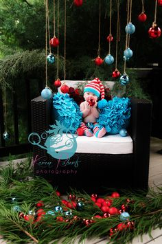 Karen Roberts Photography  Christmas Baby Shoot