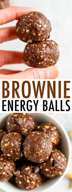 Good Healthy Recipes, Healthy Baking, Raw Food Recipes, Healthy Snacks, Protein Recipes, Healthy Dishes, Raw Chocolate, Healthy Chocolate, Chocolate Protein Balls
