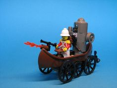 Leftenant Cavendish's Marvelous Amphibious Contraption by Andrew from The Brothers Brick