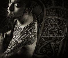 Professional Tattoo Photography Ram tattoo pro photo 1 by Thor Tattoo, Ram Tattoo, Mantra Tattoo, Taurus Tattoos, Norse Tattoo, Viking Tattoos, Group Tattoos, Love Tattoos, Body Art Tattoos