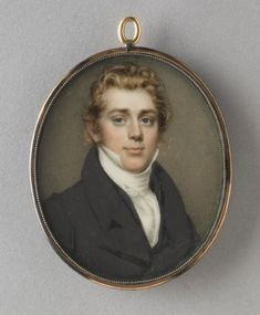 Portrait of a Young Man - Nathaniel Rogers, American, 1788 - 1844 - Date: c. Watercolor on ivory, Dimensions: Height: 2 inches cm) Nature Photography, Photography Tips, Street Photography, Landscape Photography, Portrait Photography, Fashion Photography, Wedding Photography, John Smith, Victorian Hairstyles