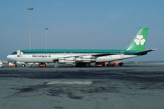 Aer Lingus Boeing 707-348C EI-APG (MSN 19410/LN 599) 27 June 1967: First flight 01 July 1967: Delivered to Aer Lingus 30 September 1967: Delivered to Trans Carribean on lease as N8789R 02 May 1968: Returned to Aer Lingus as EI-APG 11 December 1973: Delivered to Transair as CF-TAI 30 April 1974: Returned to Aer Lingus as EI-APG 13 November 1979: Delivered to Zambia Airways on lease 30 March 1980: Returned to Aer Lingus 19 January 1981: Delivered to Zambia Airways on lease August 1981: Stored…