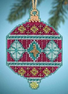 Mill Hill Christmas Jewels  Berry MH164305 by DebiCreations, $6.45