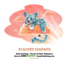 Day+1368.+Clouded+Leopard+by+Cryptid-Creations.deviantart.com+on+@DeviantArt