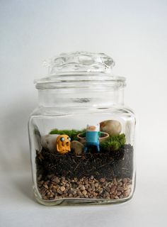 Recycled Glass Medium Finn Jake Adventure Time by maforet on Etsy, $25.00