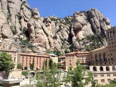 Mosteiro de Montserrat - Catalunha.