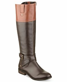 mark fisher amber tall riding boot (in tan brown) $170
