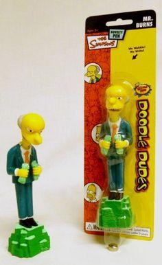 The Simpsons Doodle Dudes Pen - Mr Burns