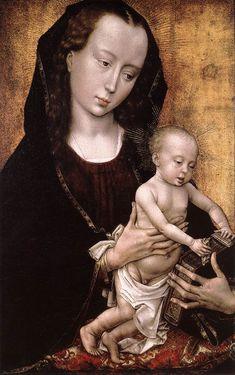 Madonna and Child - Rogier van der Weyden