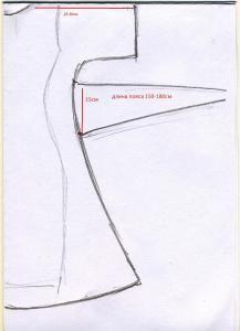 Dress pattern (K) page 1