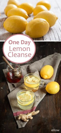 The best way to cleanse is to eat super-nourishing, wholesome foods (like lemons!) that will provide all the nutrients you need for natural detoxification. Eat 'em in combination with other wholesome foods for a healthy 1-day cleanse that'll leave you feeling energized, not deprived. http://www.ehow.com/how_4785690_one-day-lemon-cleansing-diet.html?utm_source=pinterest.com&utm_medium=referral&utm_content=freestyle&utm_campaign=fanpage