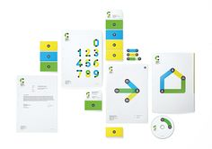 Caravan is a leading company in the market of business telecommunications that specialises in proposing individual solutions to its clients, precisely meeting current demands. The base of the new corporate identity is the company's graphics, which feature simple yet striking forms and a friendly colour scheme of yellow, green and blue. By Plenum Brand Consultancy, Moscow, 2014