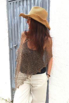 Linen summer knitwear by EstherTg