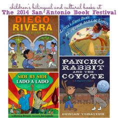 Children's Bilingual and Cultural Books are representing at the 2014 San Antonio Book Festival - April 5th, 2014 #free