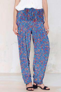 Vintage Eshani Harem Pants | Shop Vintage at Nasty Gal!