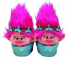Trolls Poppy Plush Slippers! Troll 17d9daca2