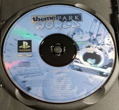 theme PARK WORLD Playstation 1 SLES-02688 PS1  FREE Postage