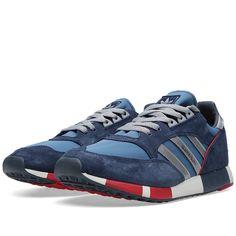 Adidas Boston Super (Stonewash Blue & Dark Slate). Article: M25419. Release: 2014. Made in Vietnam. #adiporn #adidasoriginals #adidasbostonsuper #adidasboston